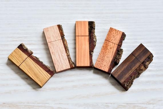 Usb stick usb flash drive wedding usb wooden USB wood usb drive memory  stick with wood bark 8/16/32/64 gb