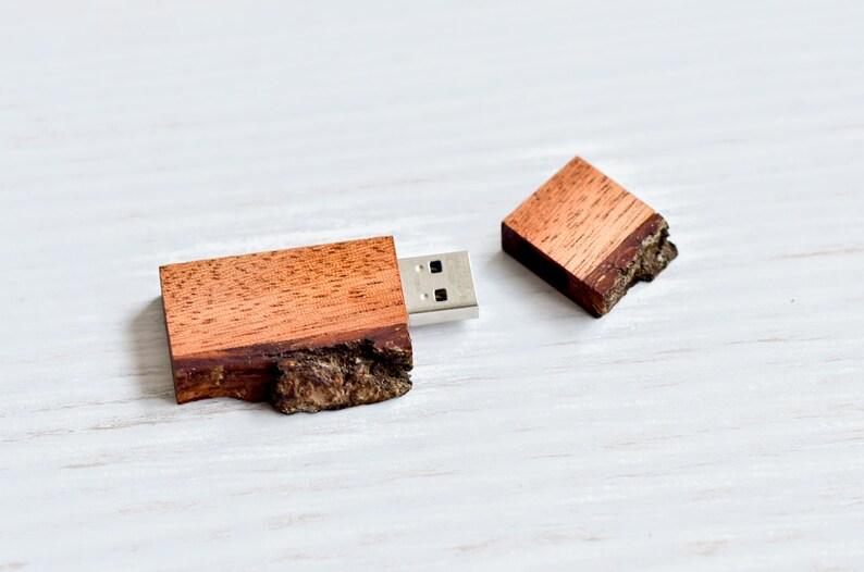 Wood USB flash drive Wedding usb stick Wooden USB wood usb drive Wedding USB wood usb with wood bark  8163264 gb