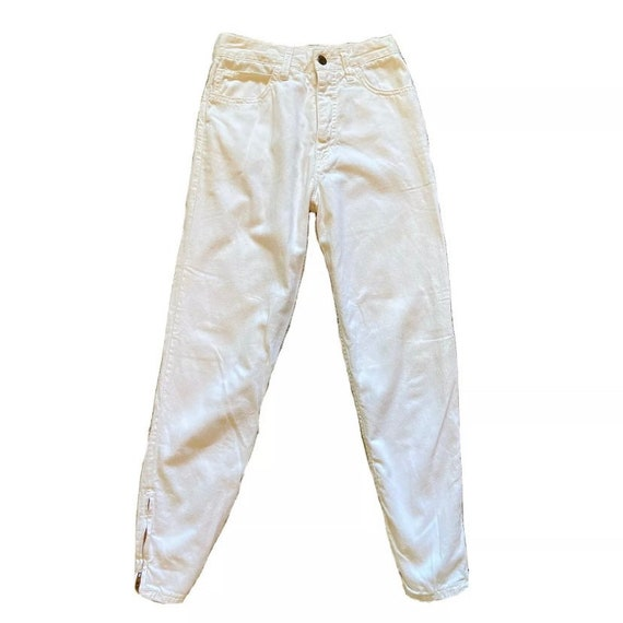 Vintage 90's GUESS Georges Marciano White High Wai