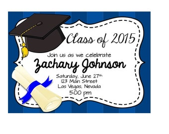 PRINTABLE Graduation Party Invitation