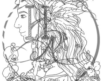 Anhwen Coloring Page