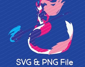 Koi Nami League of Legends Vector SVG & Transparent PNG
