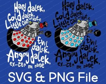 Dalek Dr. Who Vector SVG & Transparent PNG