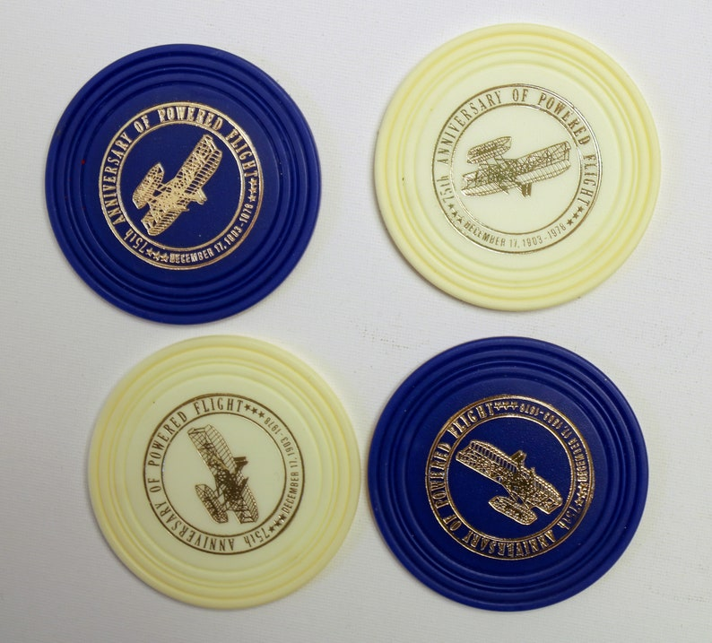 Flight Collectible 75th Anniversary of Powered Flight in original box 1978 Coasters Airline Collectible Plane collectible
