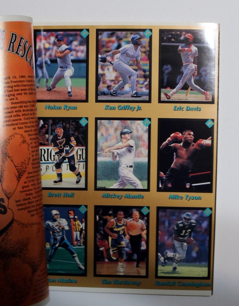 No July 1991   Sports Magazine The Stuff Jr Vol 1 Ken Griffey Jr Sports Collecting for Kids 1 Baseball Magazine