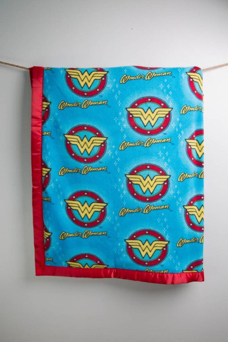 Wonder Woman Blanket Fleece and Minky Throw Blanket Wonder  dca08d3e0