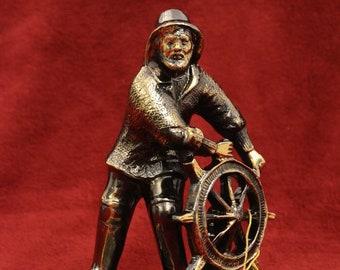 Bronze Figurine Helmsman