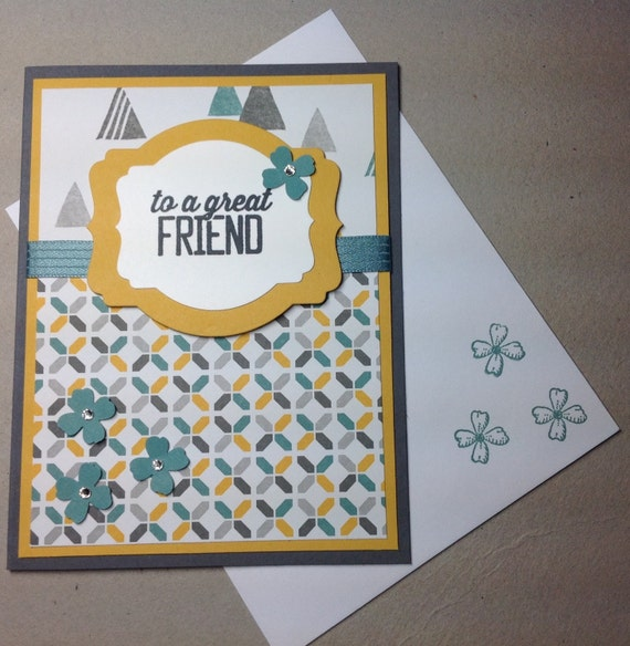 Sale handmade greeting card friendship thinking of you etsy image 0 m4hsunfo