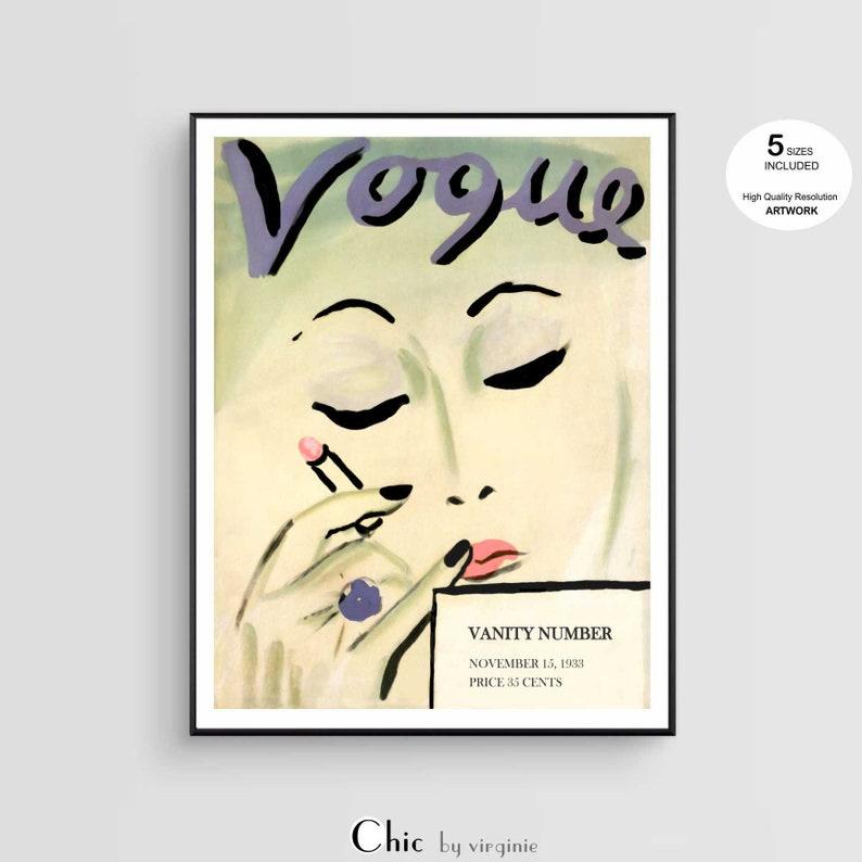 a1 size frame large art print marilyn monroe lips vogue cover 1950 Australia