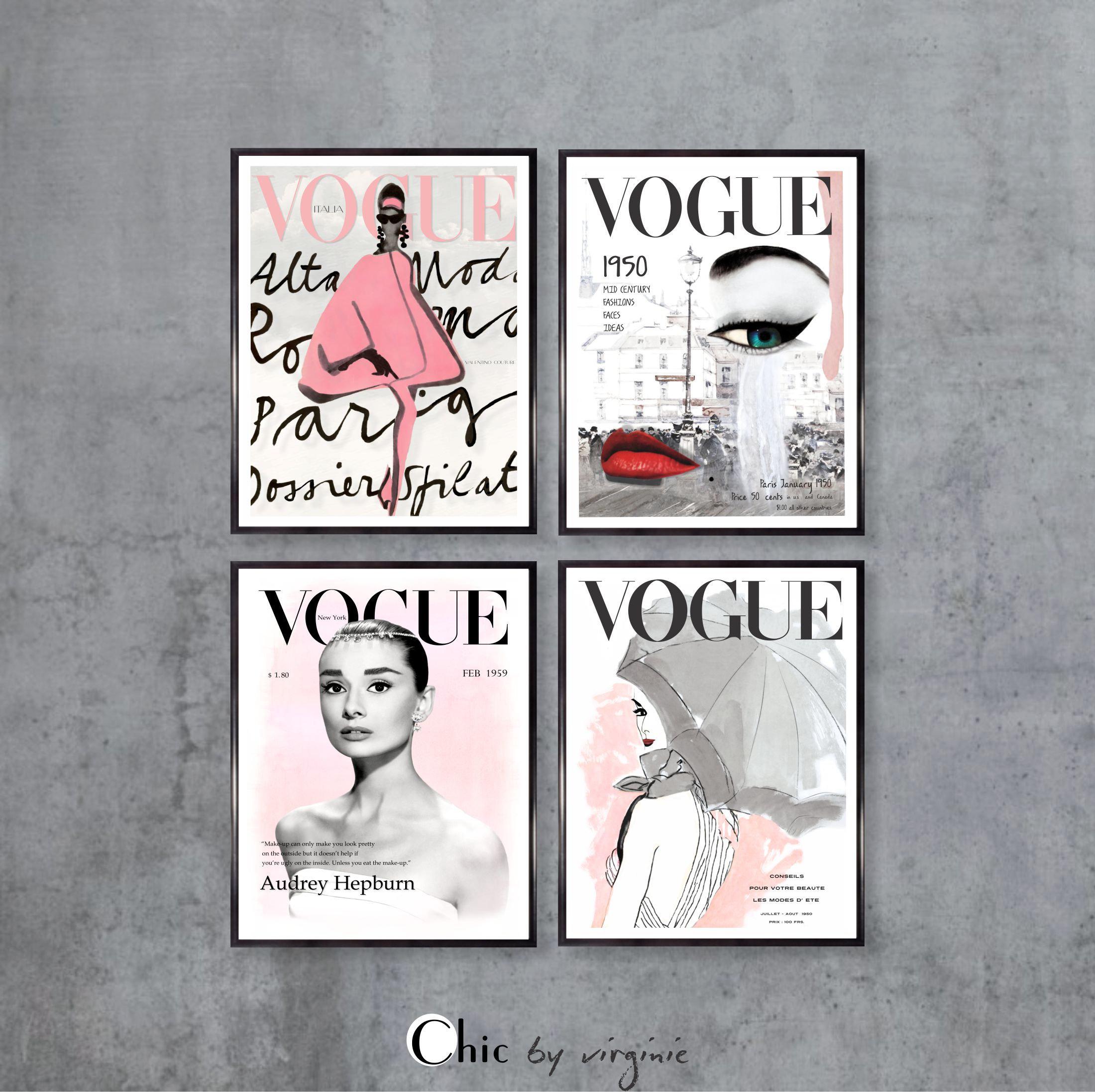 Fashion Wall Art Printables