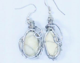 Wire Wrapped Shell Fragments