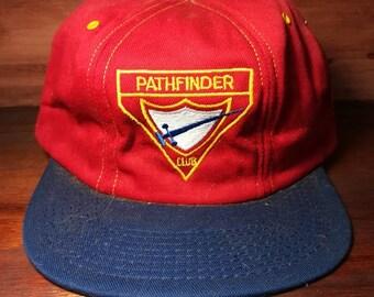 Vintage Pathfinder Club snapback hat