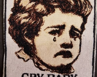 Small Cry Baby Patch