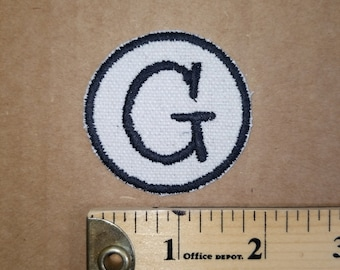 Embroidered G Monogram Patch