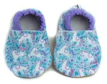 db61626495c Unicorn Baby Shoes