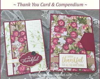 Thank You/Gratitude Projects - Bundle of 12 Tutorials