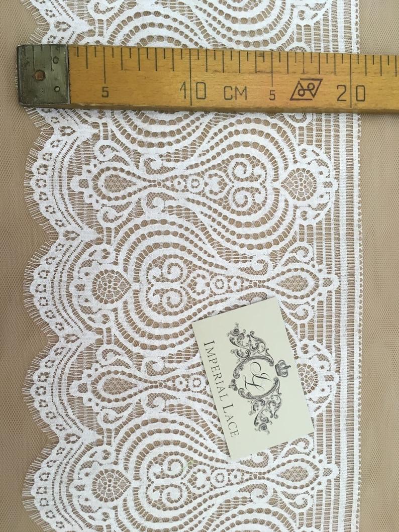Wedding Lace elastic lace lingerie lace White Lace Trim Lingerie Lace MB00184 Chantilly Lace French Lace White Lace Garter lace