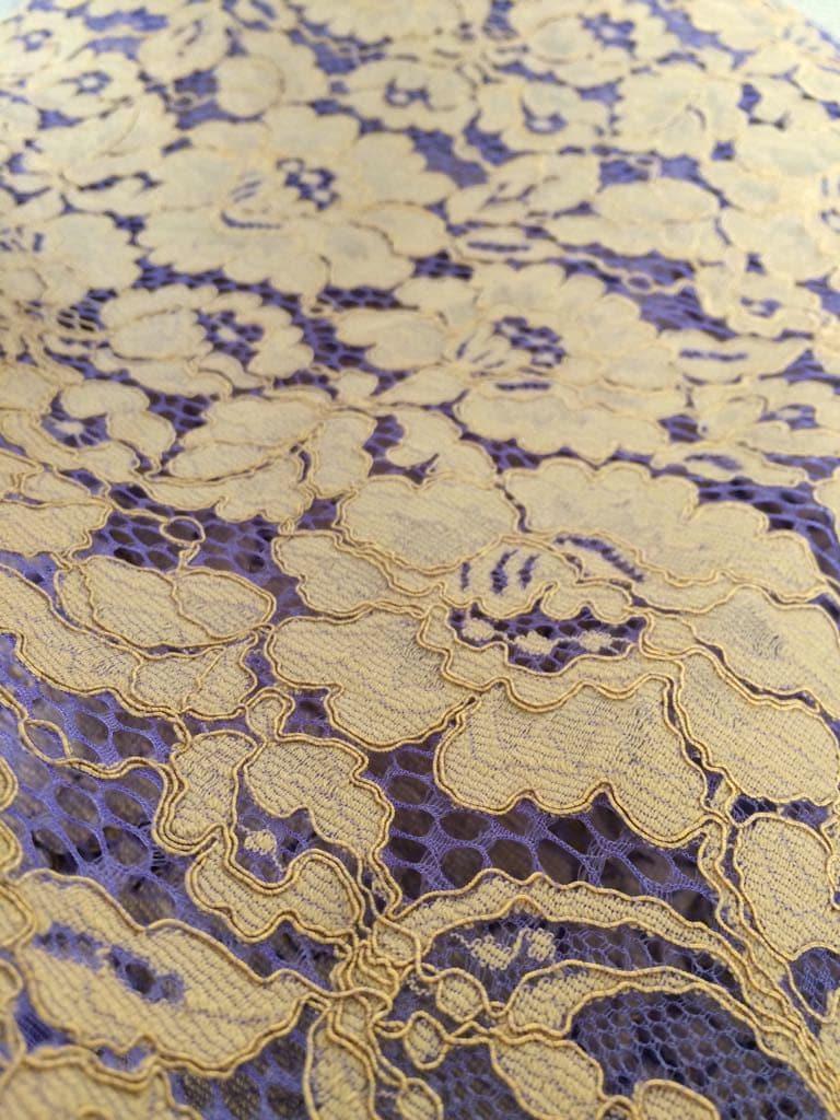 Olive avec tissu de dentelle tulle lilas, d Alençon, dentelle de Lingerie, b9c01315593