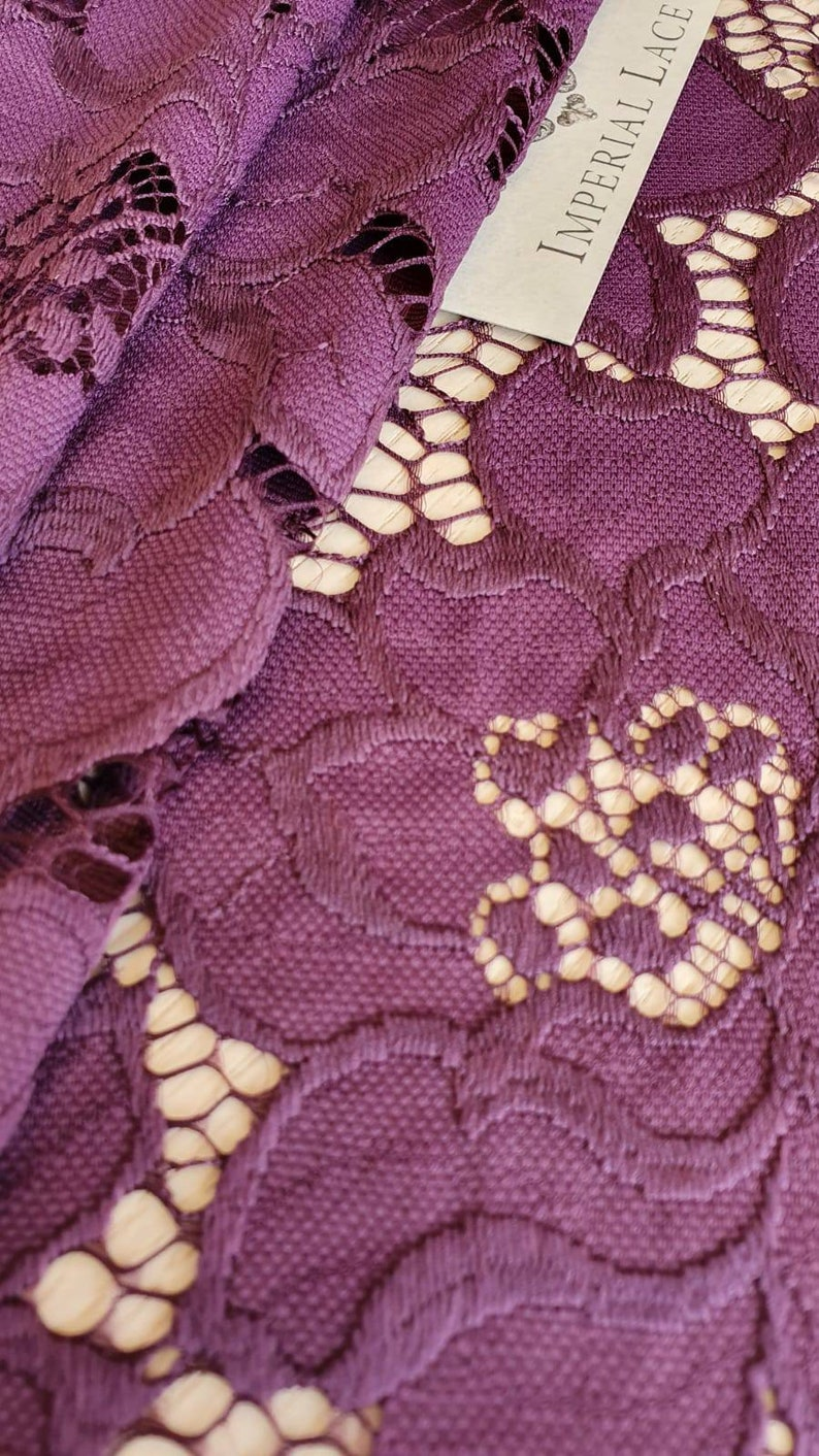spitze stoff pink lace pink lace fabric lingerie lace K00831 Wedding lace lace fabric lingerie lace lilac lace Lilac lace fabric