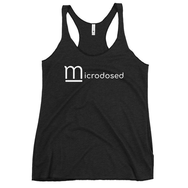 Microdosed Bad Mommy Women/'s Racerback Tank
