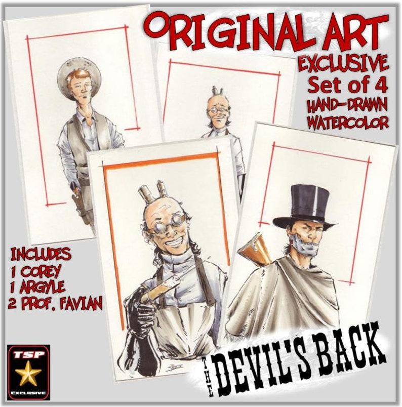 Original Art  The Devil's Back Set image 0