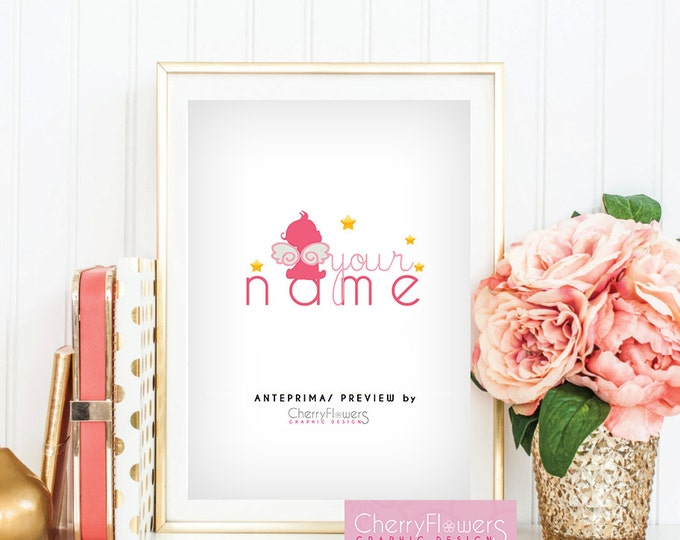 Logo Design-Personal logo-corporate logo-logo design-child angel-Creative Logo-customizable