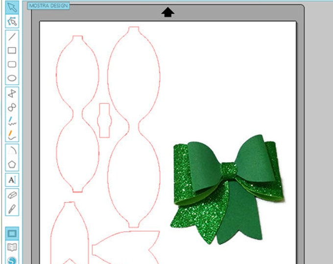 3d bow svg file cutting svg e. Studio staple 3d for cutting plotter