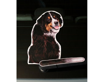 Bernese Mountain Dog Welcome Sign Can Be Customized Etsy