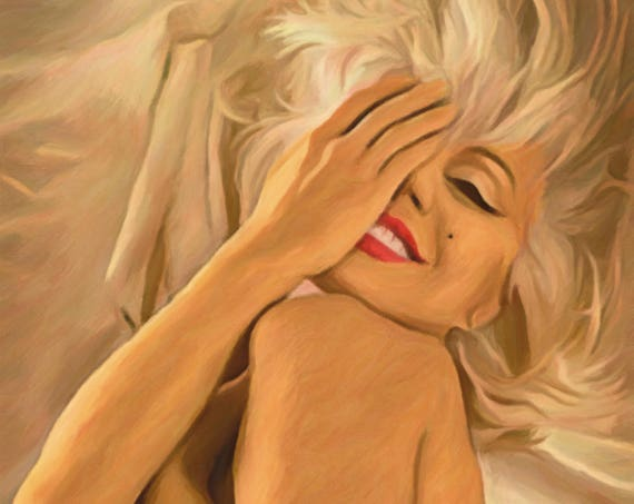 Monroe: Bathed in Gold