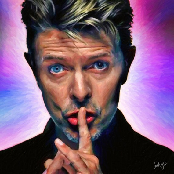 My Last David Bowie Portrait