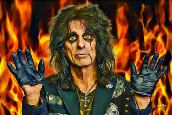 Alice Cooper Visits Hell