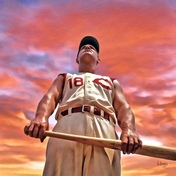 Big Klu - Ted Kluszewski - Cincinnati Redlegs