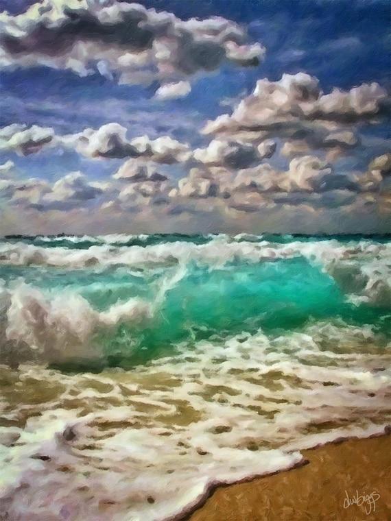 The Churning Surf