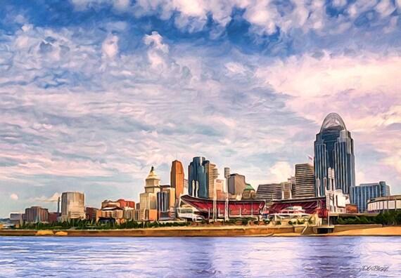 Cincinnati East Riverfront