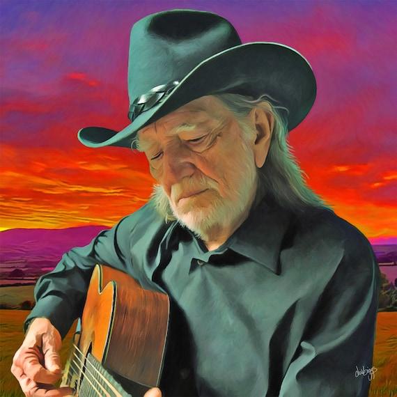 Willie  on Guitar
