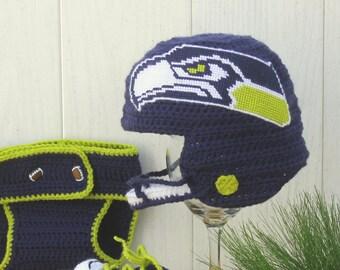 Seattle Seahawks Baby Hat 25874e9d517