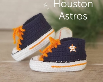 cc84337e3a5b40 Houston Astros Baby Shoes