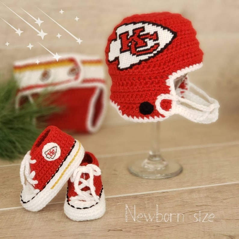 0b98d7e48 Kansas City Chiefs Baby Boy, inspired KC Chiefs Baby, KC Chiefs Baby Shoes,  Baby Chiefs Hat, Baby Football Shoes