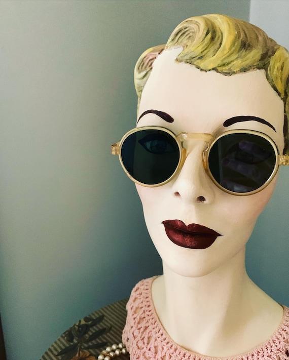 Vintage American Optical 1930's Tart Arnel Style S