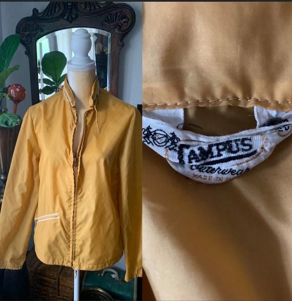 40s Campus Windbreaker Jacket, 40s Mens Trek Jacke