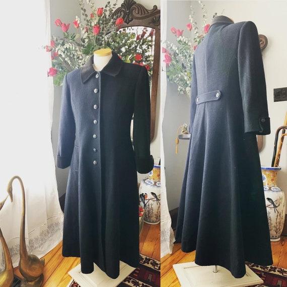 90s Does 40s Princess Coat, 40s Style Princess Coa