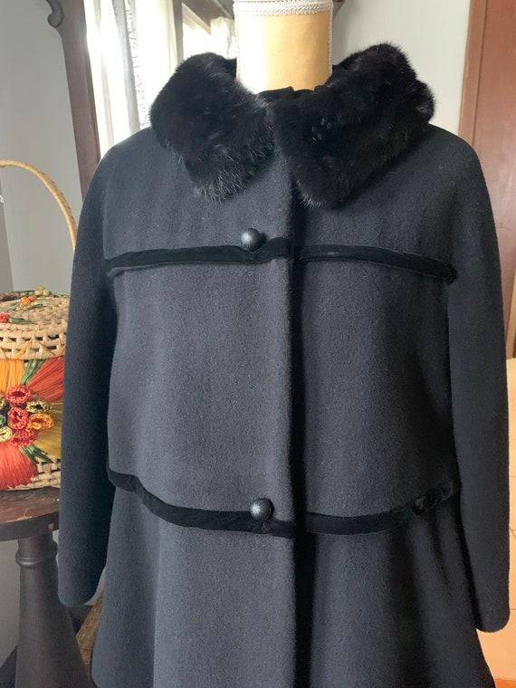 Vintage Lilli Ann Coat, 50s Lilli Ann Coat, 60s L… - image 10