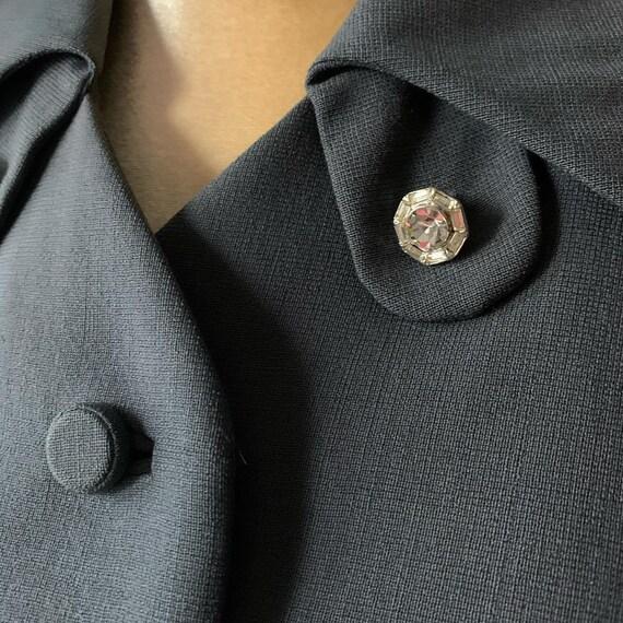 40s Grey Suit, Rothmoor Dress Suit, Vintage Slate… - image 5
