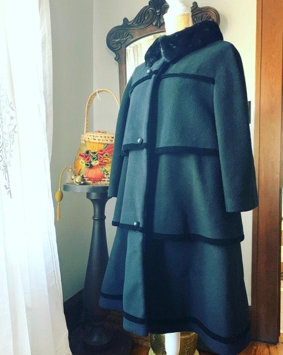 Vintage Lilli Ann Coat, 50s Lilli Ann Coat, 60s L… - image 1
