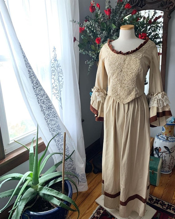 Victorian Dress, Antique Edwardian Dress, 40s Does