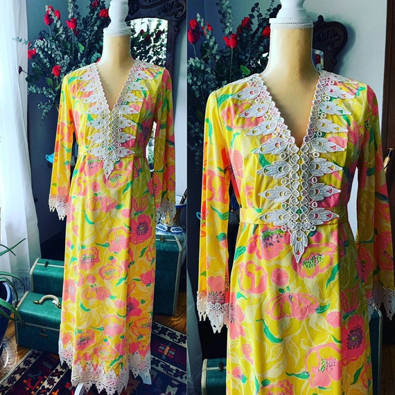 Vintage Lilly Pulitzer Dress, 60s Lilly Pulitzer D