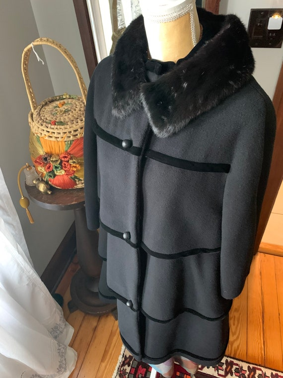 Vintage Lilli Ann Coat, 50s Lilli Ann Coat, 60s L… - image 6