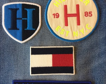 iron on tommy hilfiger logo