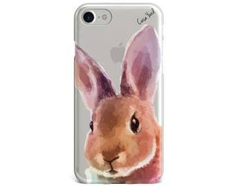 best service 10b52 d1827 Rabbit iphone case | Etsy