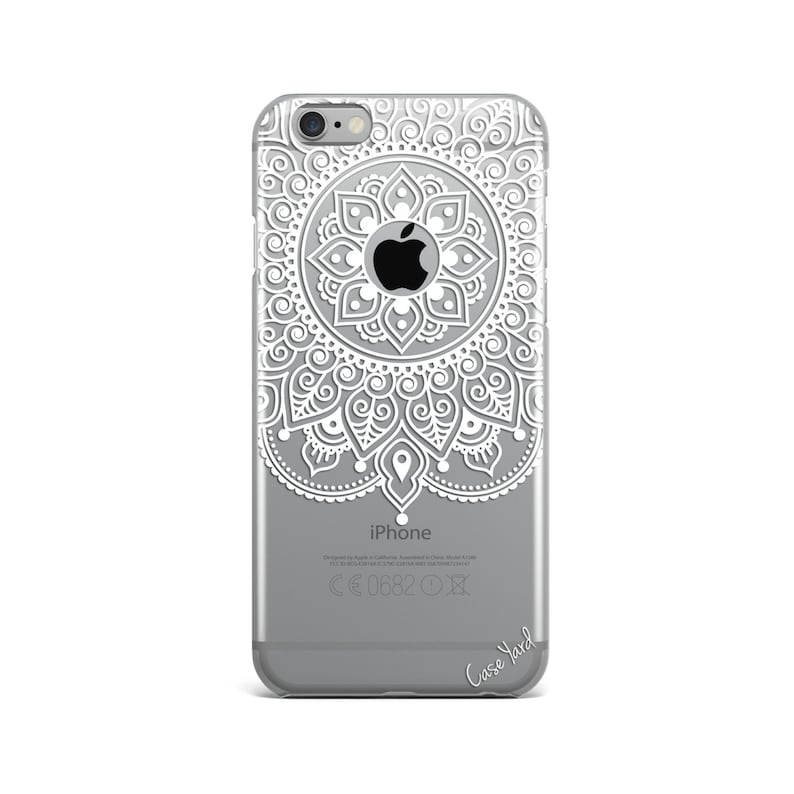 hot sale online 7f1fd a7e07 iPhone 8 Case Clear iPhone 8 Plus Case iPhone X Case iPhone 7 Plus case  Clear iPhone 7 Case iPhone 6 Case Samsung S8 Case,Apple Mandala